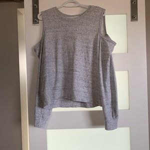Abercrombie Cold Shoulder Sweater